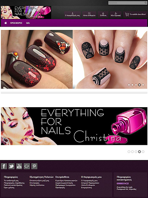 everything for nails e-shop